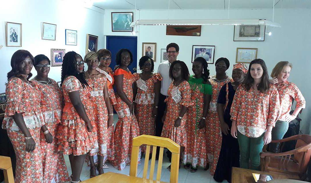 La journée mondiale de la femme célébrée par les femmes de la SOTICI