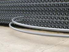 PVC PIPE – TELECOM FLEXIBLE AND RESISTANT – PROTECTS THE TELECOM CABLES EFFECTIVELY