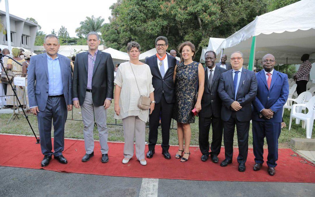 La Grande Chancellerie de Côte d'Ivoire distingue le PDG de la SOTICI au rang de Commandeur de l'Ordre National
