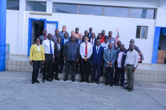VISITE EN ENTREPRISE : Le ministre ivoirien de l'hydraulique rassure la SOTICI de son soutien