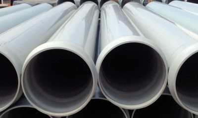 PVC SEWER & DRANAGE PIPES  THREE CLASSES OF STIFFNESS: CR2 – CR4 – CR8