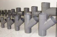 RAIN & WASTE WATER PVC PIPES & FITTINGS For Rain and Waste water