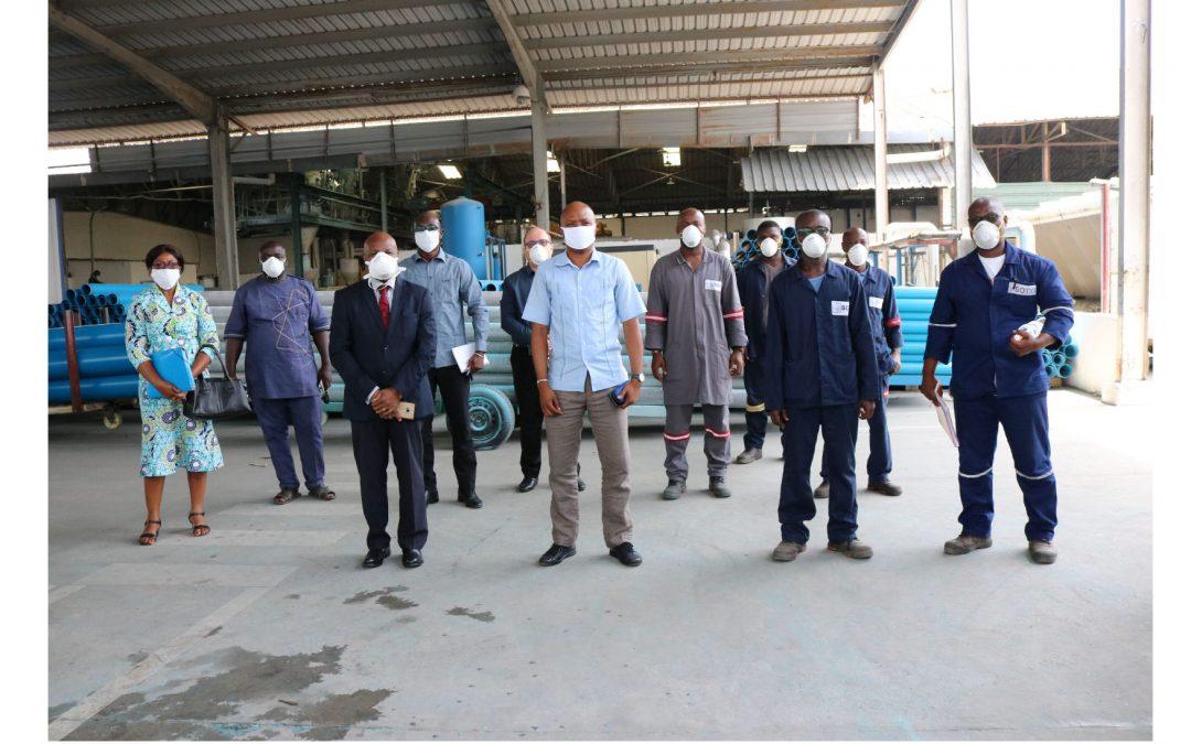 COVID-19:   Sous mandat du Ministère de la santé et de l'hygiène publique